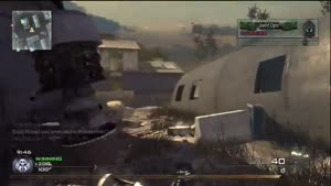 Modern Warfare 2: Team Deathmatch AC 130 - Sandy Ravage