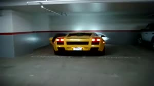 Lamborghini Gallardo Exhaust with Flames