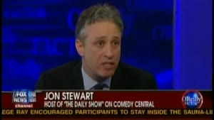 Bill O'Reilly Interviews Jon Stewart Part 2 of 3