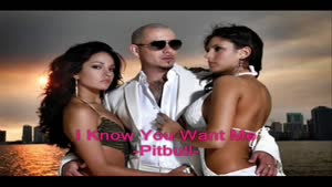 I Know You Want Me -Pitbull- con Lyrics (Letra)