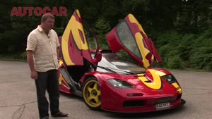 McLaren F1 GTR driven by autocar.co.uk