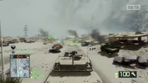 Battlefield: Bad Company 2 - Arica Harbor Beta Gameplay 3