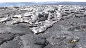 Hawaii Time Lapse Lava Flows