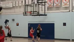 Girls Basketball Dunk Fail
