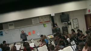 Music teacher freakout