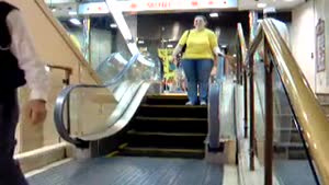 Shortest Escalator in the World