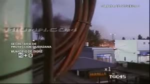 Plane crash caught on CCTV