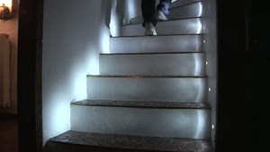 Cool Stair Lighting
