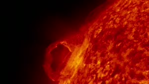 New video of the Sun