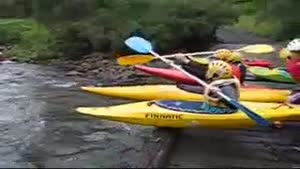 Kayak Race Fail