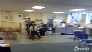 Office Chair Stunt