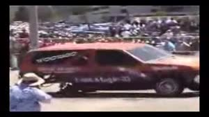 Low rider car dies in style
