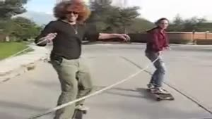 Chicks Longboarding Faceplant