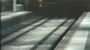 Stupid Kids Crossing The Train Track