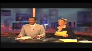 News Anchors During Commercial Break