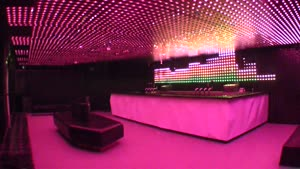 Amazing LED Set-Up In Nightclub