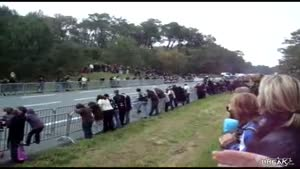 Bikers Fail In Front Of Crowd