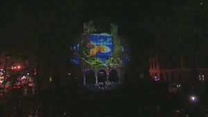 Cool 3D Show On Building
