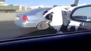 Car Skating in Saudia Arabia