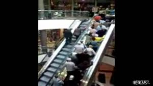 Guys Can't Make It Up Escalator