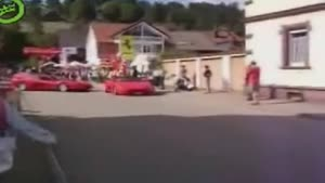 Woman Crashes Ferrari