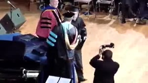 Graduation Ceremony Fail