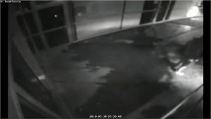 Dumb Robbers Fail Breaking Into Store