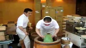 Japanese Guys Making Mochi