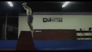 Backflip Attempt Fail