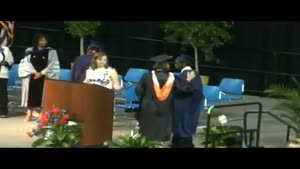 Student Passes Out At Graduation Ceremony