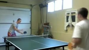 Table tennis FAIL
