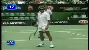 Tennis player kills bird