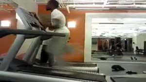 Extremely Fast Running On Treadmill