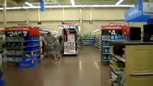 Wal-Mart Moonwalk