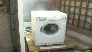 Wash Machine With Self Destruct Mode