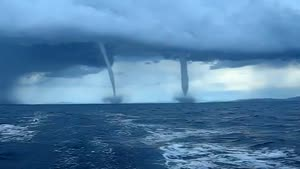 Twin Water Spouts