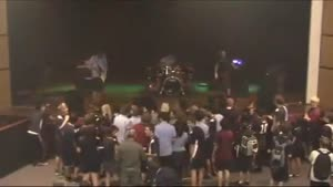 Stage Diving Fail