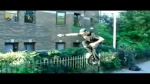 Unicyclist Self Castration