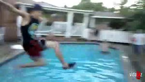 Dumbest Jump In The Pool Ever