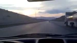 Mob Scotter Doing 86mph and riding it on it side Crazy in Morocco Funny!!!