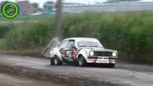 Rally Cars vs Pole