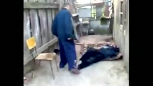 Unconscious Hobo Wins Fight