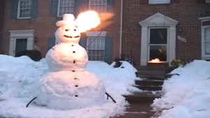 Fire Breathing Snowman of Bel Air