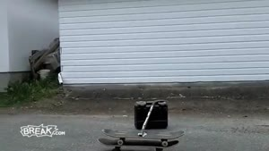 Girl Fails Hard on Longboard Backplant