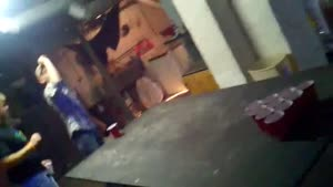 Beer Pong Table Smash