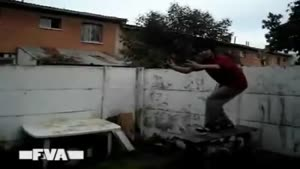 Jump Over Wall Fail!