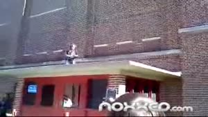 Kid Jumps Off The Roof