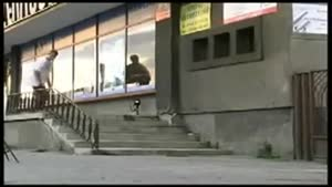 The Coolest Skateboard Trick