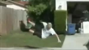 Skateboard Bike Tow Faceplant