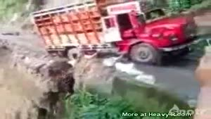 Truck going Down